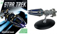 Star Trek The Official Starships Collection #22 Krenim Temporal Weapon Ship